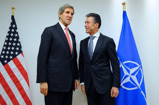 Kerry meets Rasmussen
