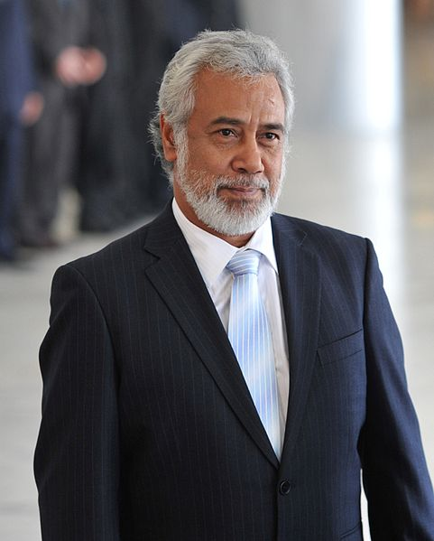 Xanana Gusmão, President of East Timor serving from May 2002 to May 2007. Photo courtesy of Wikipedia.org
