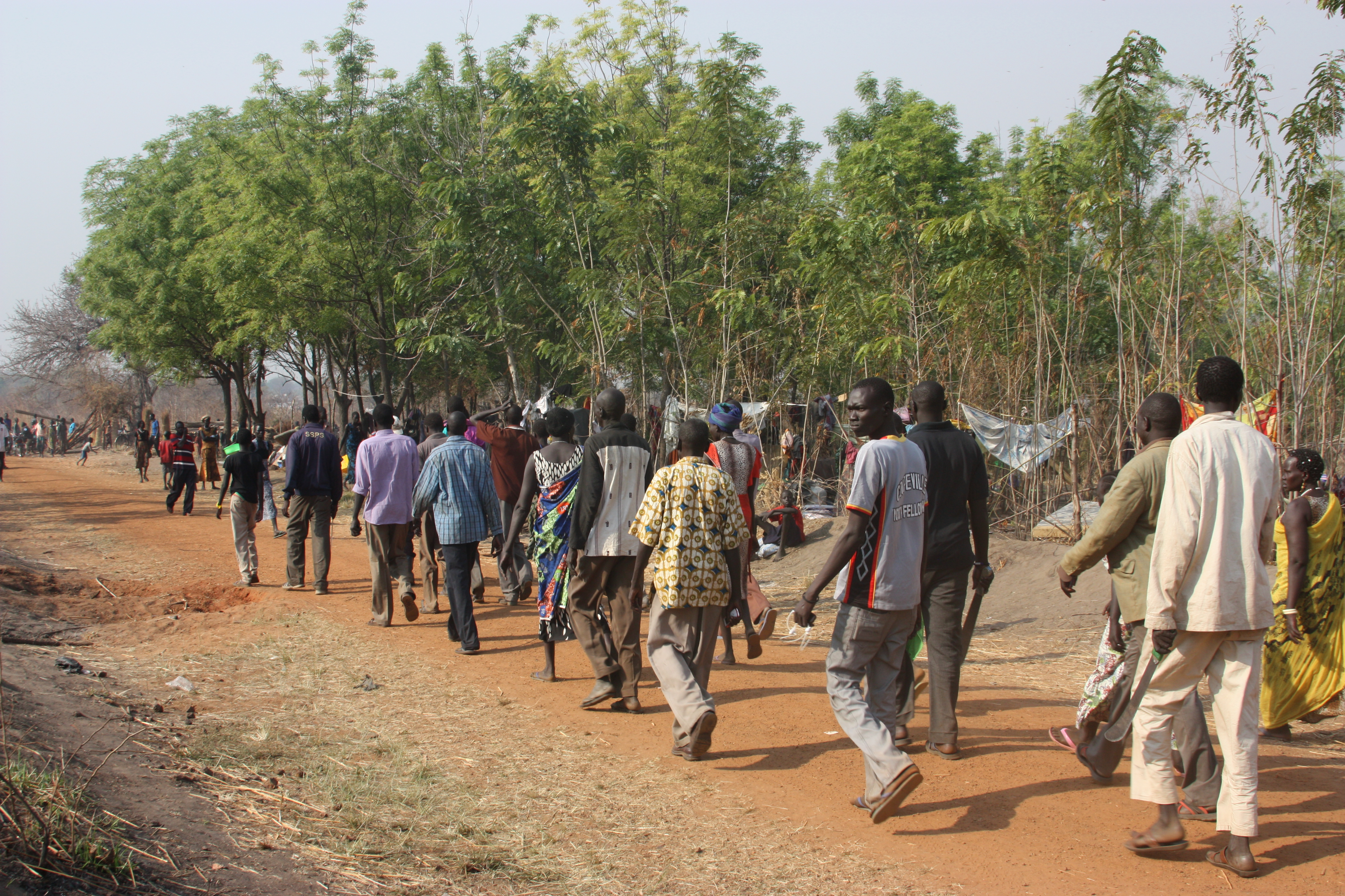 South Sudanese refugees in Uganda. As of May 2014 there are approximately 863,000 South Sudanese seeking refuge in neighbouring countries. Photo Source: European Commission DG ECHO via Flickr Creative Commons.