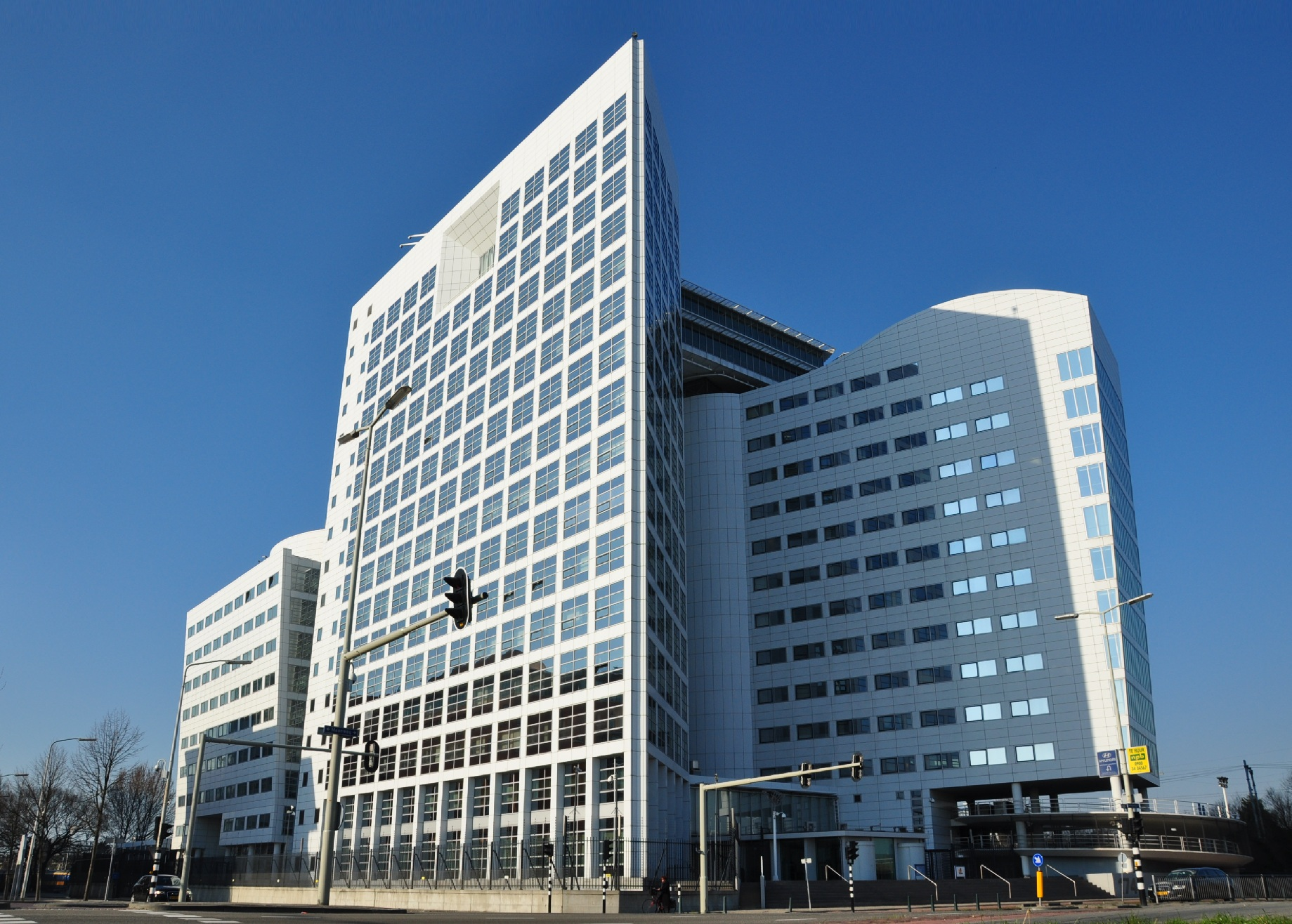 The International Criminal Court in The Hague (ICC/CPI), Netherlands. Photo source: Vincent van Zeijst via Wikimedia Commons