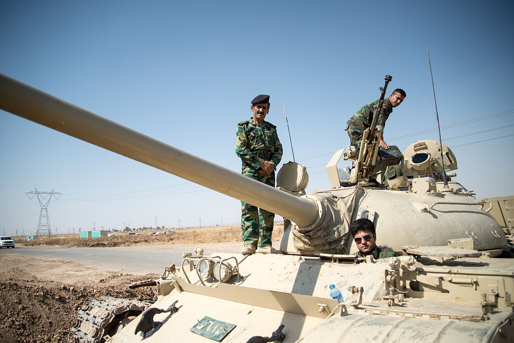 Peshmerga_on_a_T-55-Tank_outside_Kirkuk_in_Iraq.