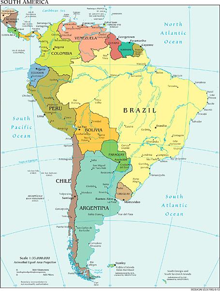 Political South America