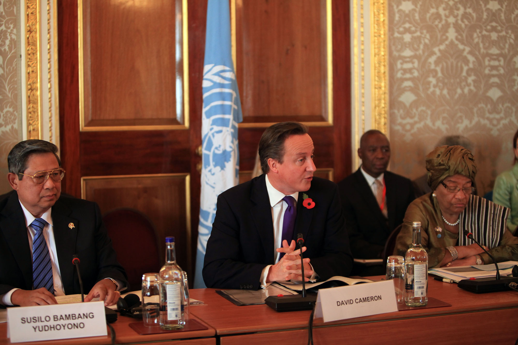 Co-chairs of the High Level Panel on the post-2015 development agenda. Photo: DFID via FlickR.