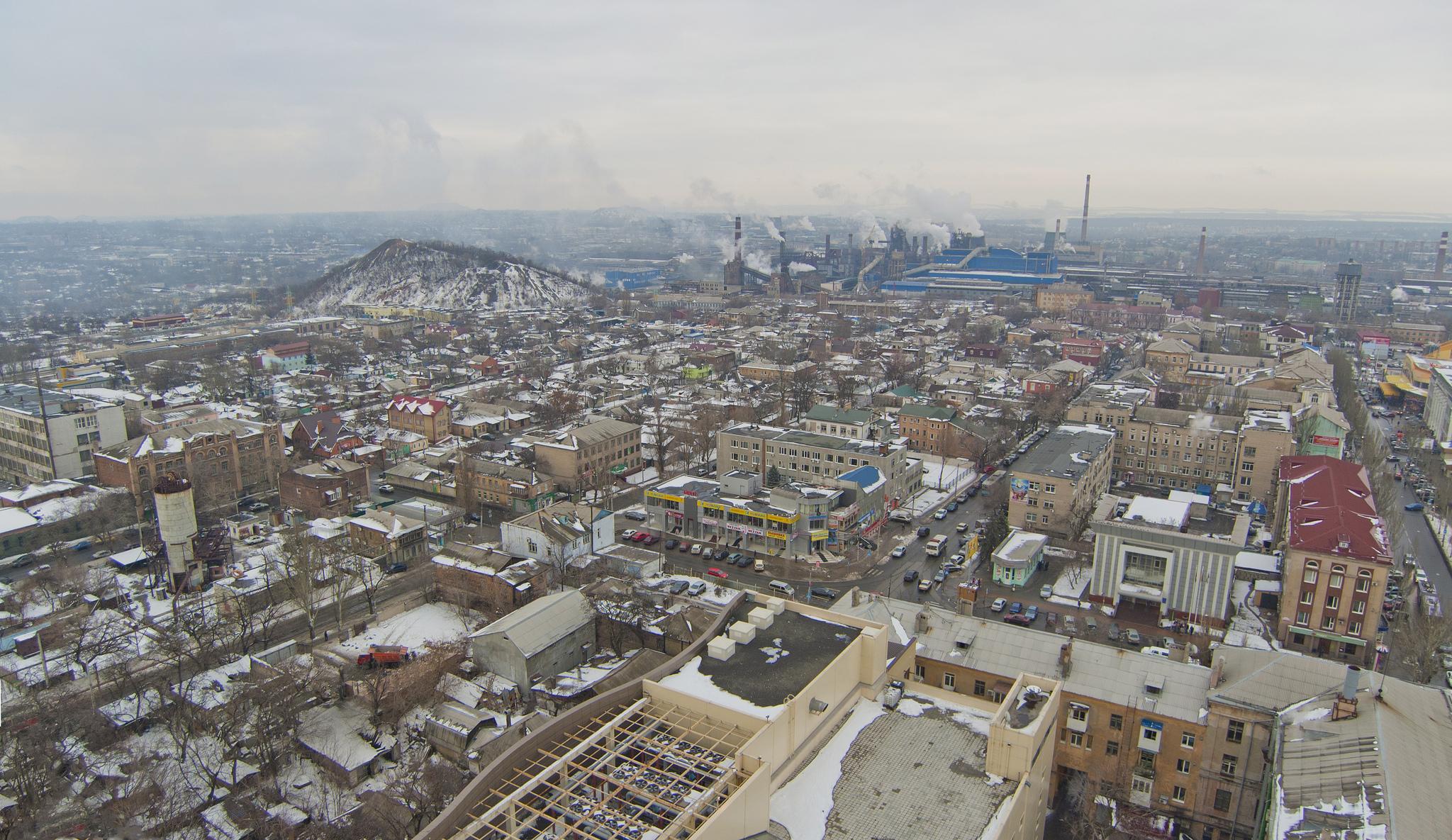 Industrial city, Donetsk