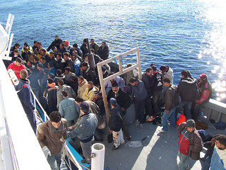 Immigrati Lampedusa, Vito Manzari via Flickr