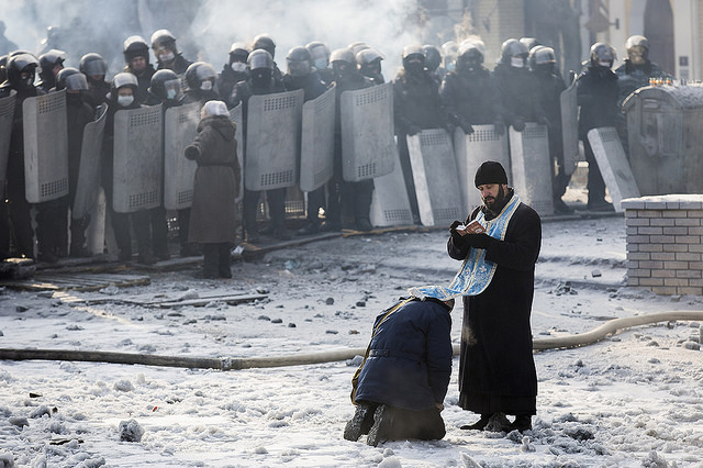 Religion has been an active part of the crisis since Euromaidan
