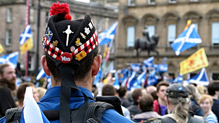 The Human Rights Act allowed Scots to gather in George Square, Glasgow, in the lead up to September 2014's independence referendum - Gerard Ferry - Flickr Creative Commons