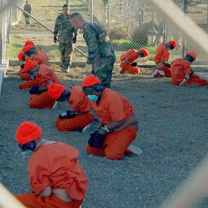 Detainees at Guantánamo Bay, Frankie Roberto via Wikicommons