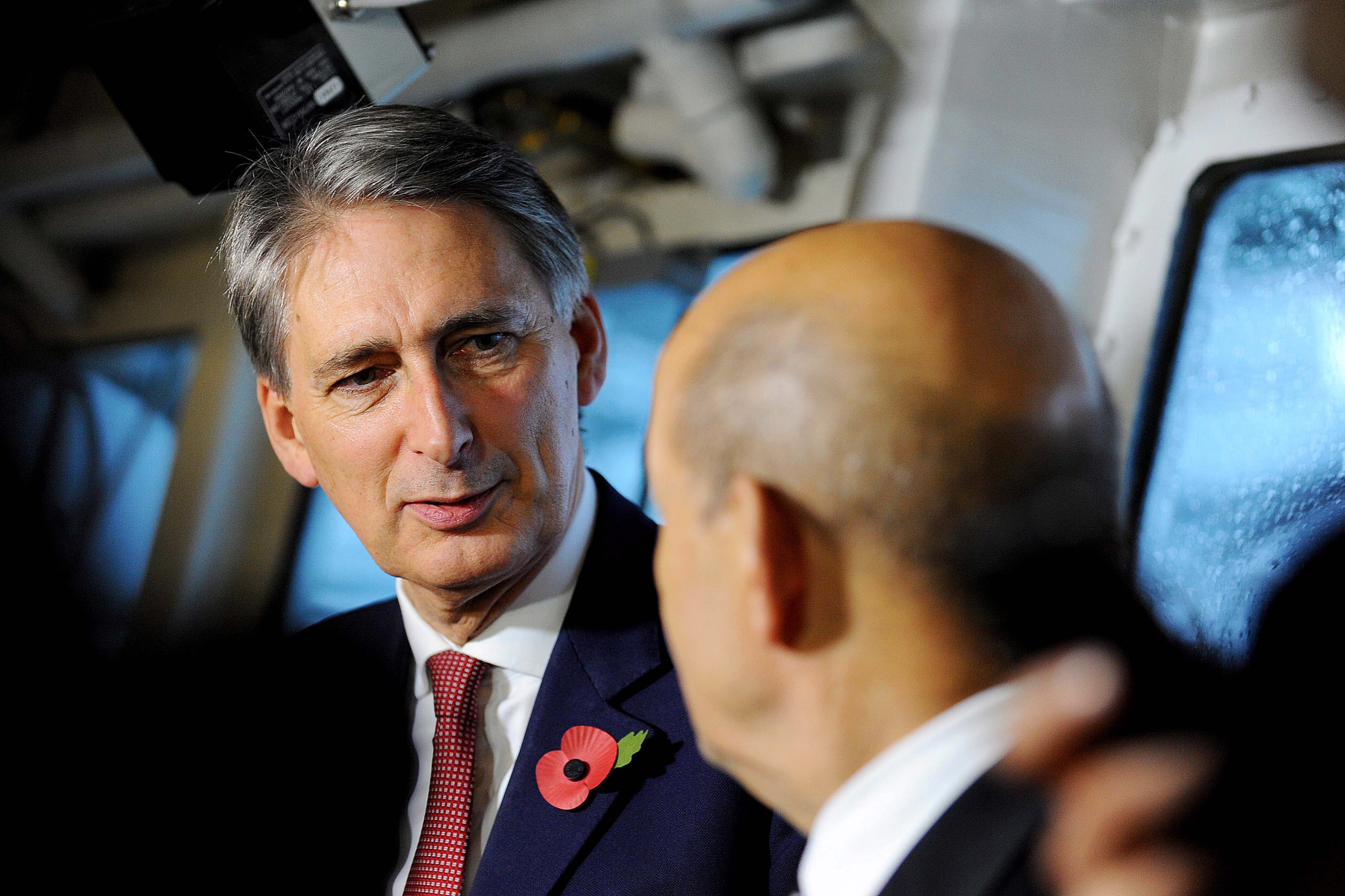 Former UK Secretary of State for Defence Philip Hammond attempted to fomulate a strategy of cyber deterrence. Image: Ministry of Defence (OGL)