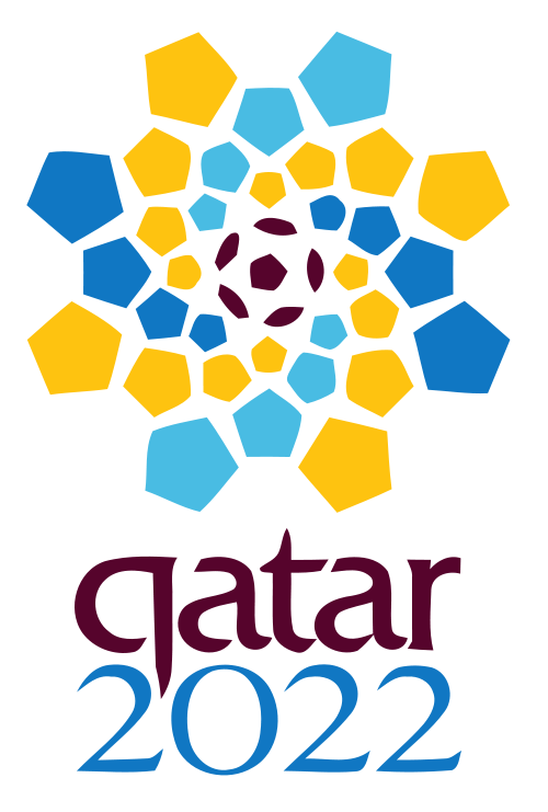 The Qatar 2022 logo. Available on WIki Commons.
