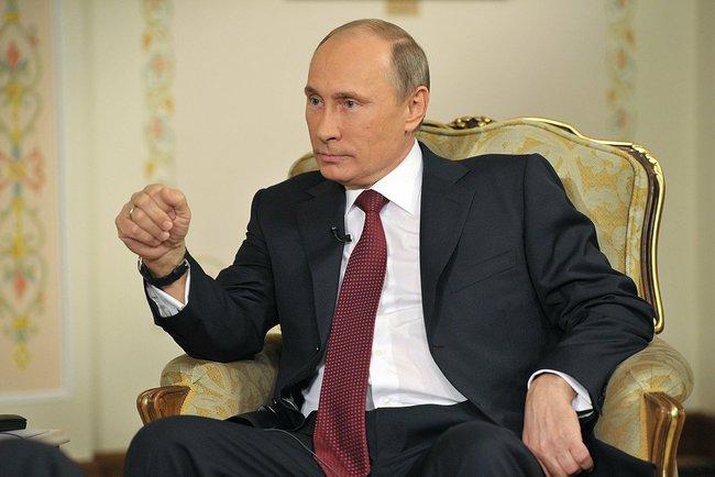 President of the Russian Federation, Vladimir Putin - www.kremlin.ru via Wikimedia Commons