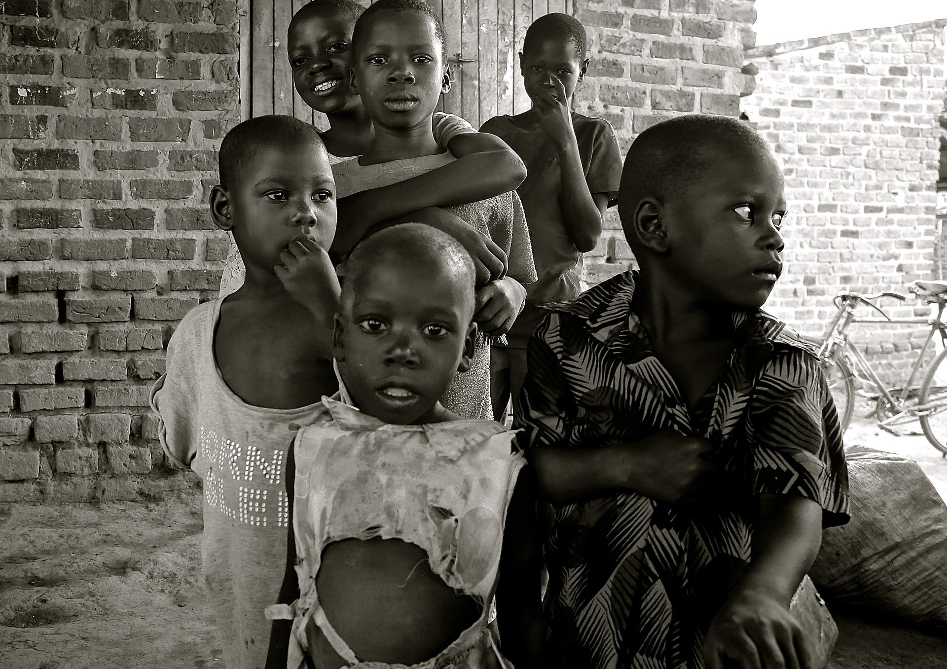 African children, ludi via Wikimedia commons