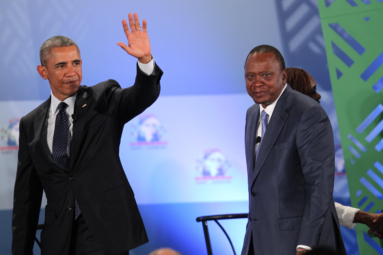 President Obama in Kenya