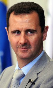 President of Syria, Bashar al-Assad. Photo source: Fabio Rodrigues Pozzebom/ABr via Wikimedia Commons