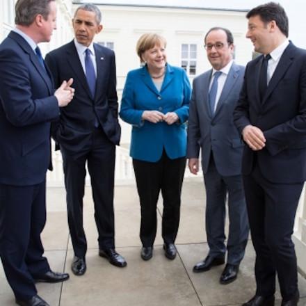 EU Leaders Obama