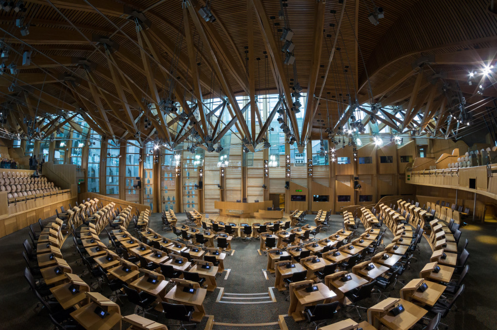 Scottish Parliament Debating Chamber 2